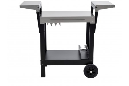 Chariot extérieur pour barbecue induction plancha grill Adventys