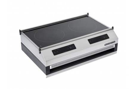 Barbecue induction plancha grill chariot extérieur